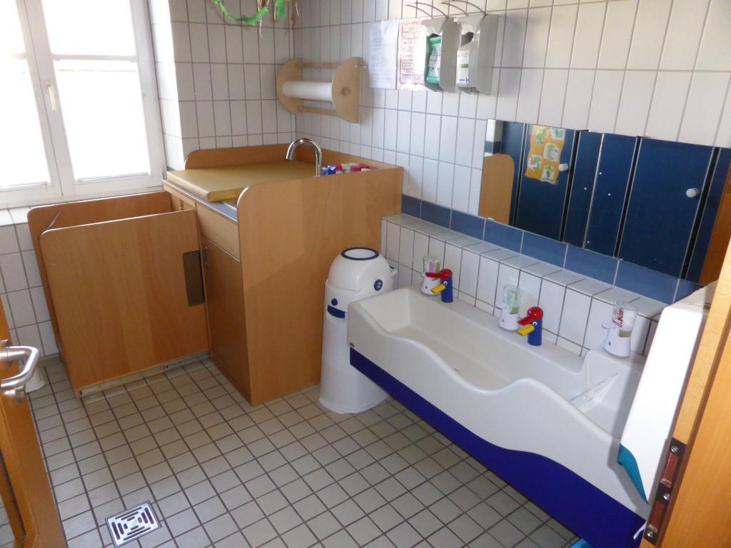 Die sanitären Anlagen